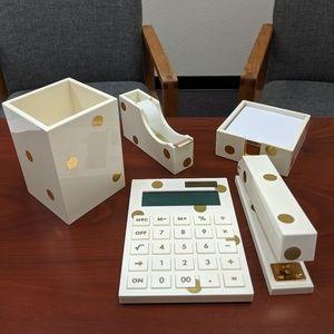 CYBER MONDAY SALE Kate Spade dot desk set